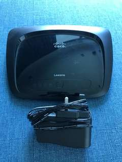 Cisco Linksys wireless router