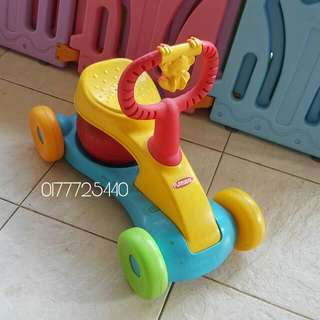 Playskool Ride on + Music