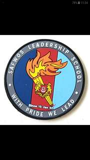 SAF Warrant Officer School Badge (free postage)