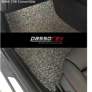 Carmats/Floormat/Drivermat Customisation - BMW218I Convertible