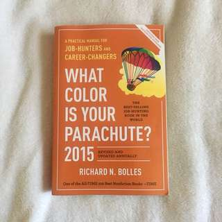 What Colour is Your Parachute? 2015