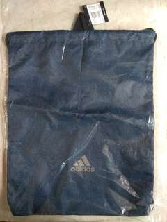 Adidas Run Gym Bag 藍色 有索帶