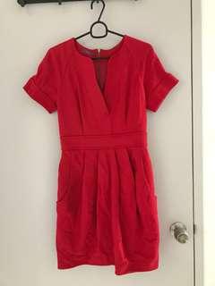 Jessica Red Dress