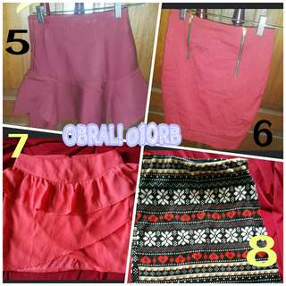 OBRAL!Branded mini skirt @10rb