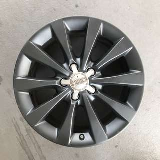 "Used 17"" Original Audi Rims"