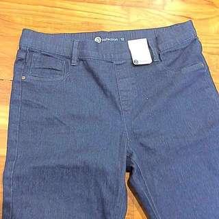 3/4 Jegging Jeans - Size 12