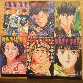 Young Guns Manga 2 and 4-10