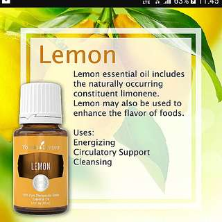 NEW Young Living Lemon Essential Oil