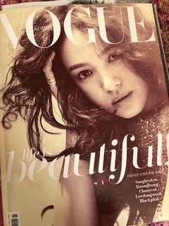 Vogue Korea 17年11月號 朴燦烈 多頁