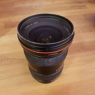 Used Canon 17-40mm F4 L USM