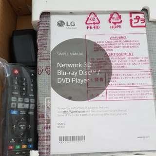 LG Bluray Player BP450