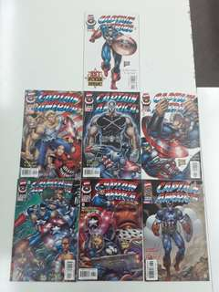 Heroes Reborn Captain America (2006 Marvel) Comics Set