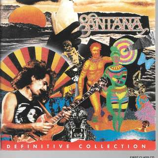 (F9E) MY PRELOVED CD - SANTANA - BEST OF THE BEST - DEFINATIVE COLLECTION  2CDS -/FREE DELIVERY