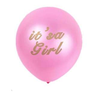 🤗 Baby Shower / Baby Full month party supplies - It's A Girl balloon