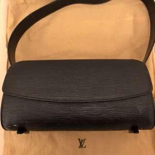Louis Vuitton black shoulder bag