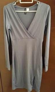 Midi dress grey