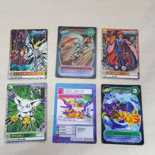 Digimon ultra rare card and more