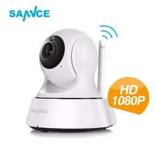 Premium SANNCE 1080P Full HD Wireless IP Camera CCTV WiFi Surveillance Security Camera Home Baby Monitor Webcam