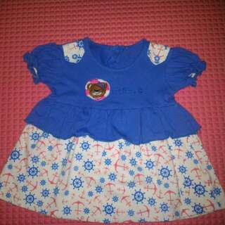 Dress bayi 3-6 Months