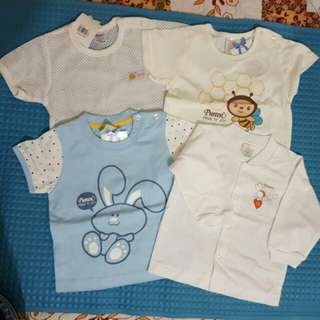Combo Baju Pureen (Mix size) 4 pcs