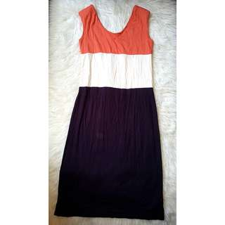 Midi Dress Kaos Mix
