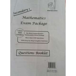 Mathematics Exam Package Secondary 1