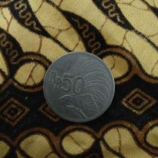 Rp 50,cendrawasih th 1971