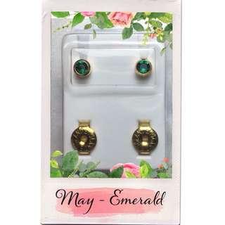 Q3: Birthstone Earrings