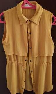 Chiffon outer/ blouse