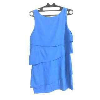 Layer Blue Dress