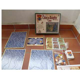 Catan: Cities & Knights 5-6 Players Extension Set (Incomplete) Selling AS-IS