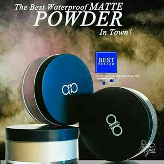 (READYSTOCK) Alha Alfa Loose Powder Matte Edition