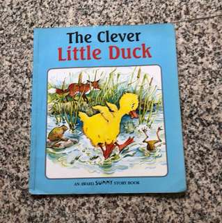 Children Story Book - The Clever Little Duck