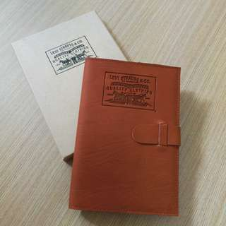 100% New Levis Notebook 皮套記事簿