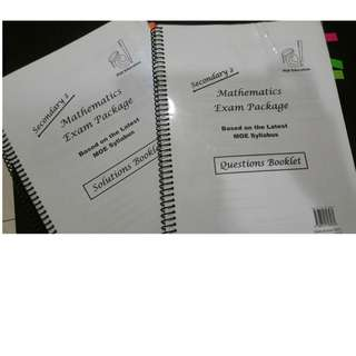 Mathematics Exam Package Secondary 2 (PhD Education)