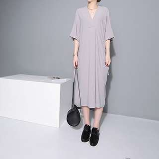 (EZBUY) Mid length dress