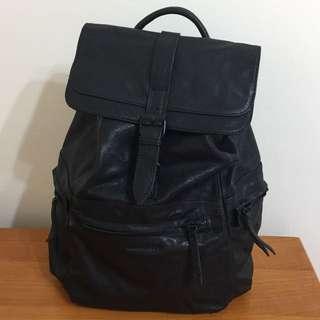 英國品牌 Amdacious 英倫風 真皮背包 backpack