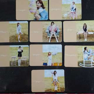 Twice Unofficial Photocard
