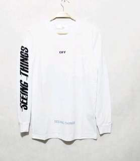 Long Sleeve Off White