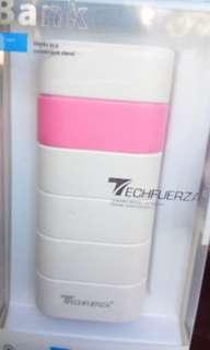 TECHFUERZA 5800mah POWERBANK (PINK)