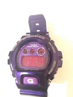 G-shock手錶紫色