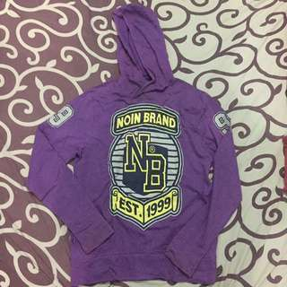 Pullover hoodie noin brand