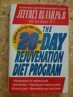 The 20 day Rejunevation program