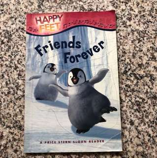 Children Story Book - Happy Feet (Friends Forever)
