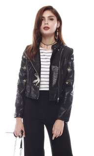 Anticlockwise Weekender Leather Jacket