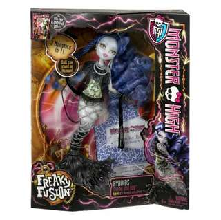 Barbie - Monster High Hybrids Freaky Fusions