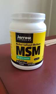 BRAND NEW MSM Powder