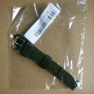 18mm MILITARY ARMY VINTAGE STYLE NYLON WATCHES STRAP NATO GREEN COLOR
