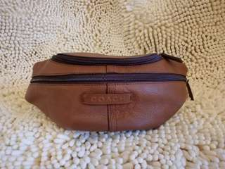 100% Authentic Coach Hip Bag / Waist Pouch