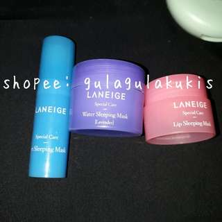 Laneige sleeping care good night kit